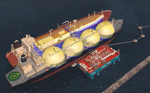 Tritec Marine oversee LNG regasification project